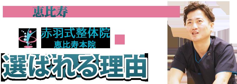 渋谷区恵比寿周辺にお住まいの方に選ばれる理由